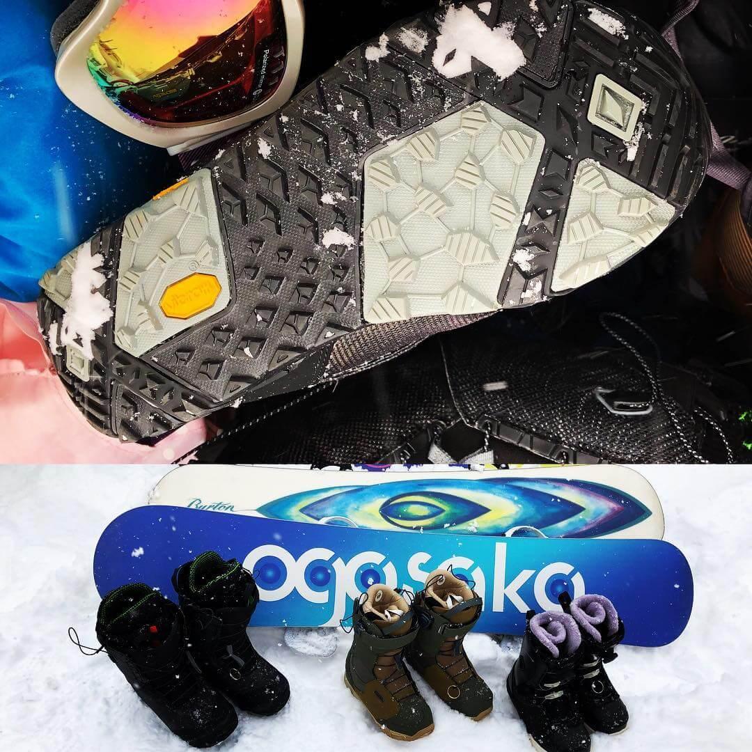私物スノーボードブーツBurton SLX