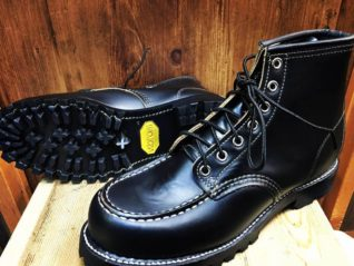 RED WING Vibram100fire &ice でカスタム