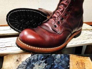 RED WING BECKMAN Vibram2333 出し縫い