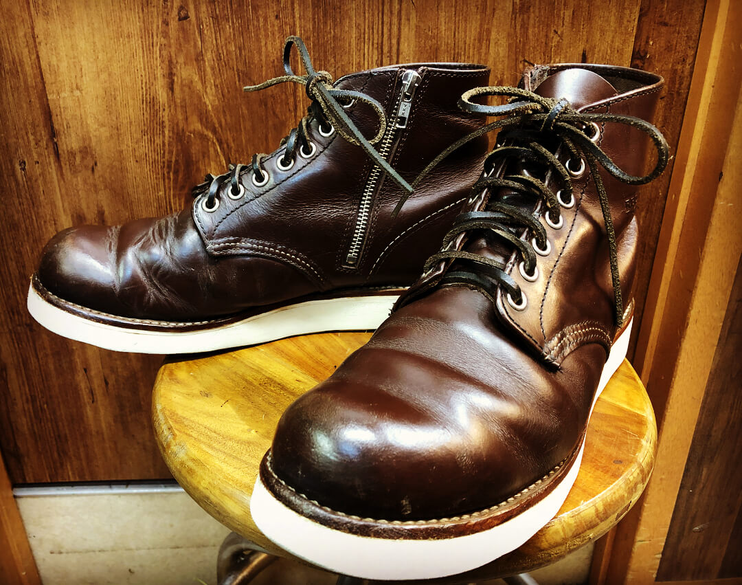 RED WING custom ・ファスナー取り付け ・ホック➡︎ハトメ