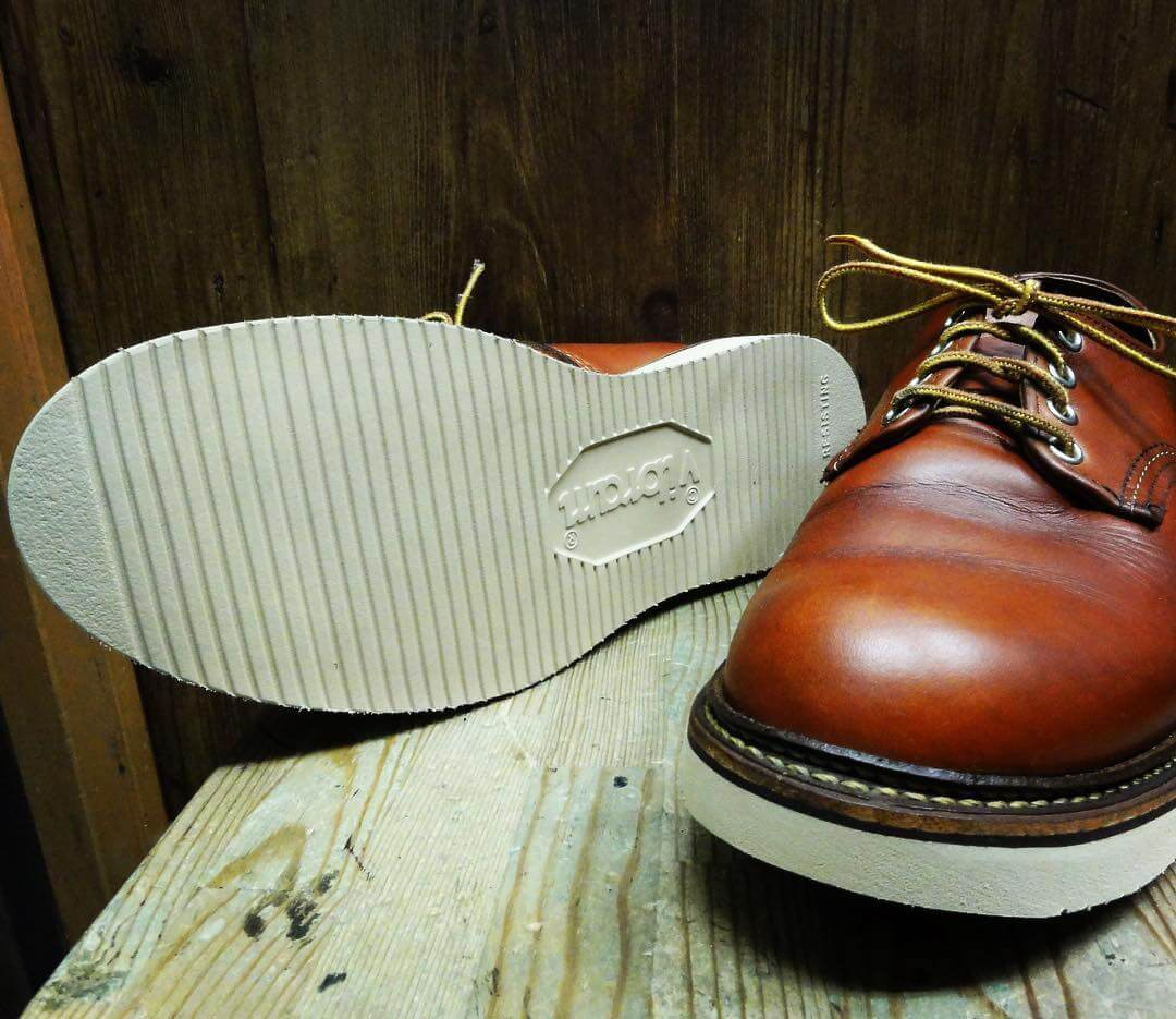 RED WING Vibram2021 リソール